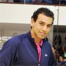 Mohamed El Shorbagy. Professional Squash Player